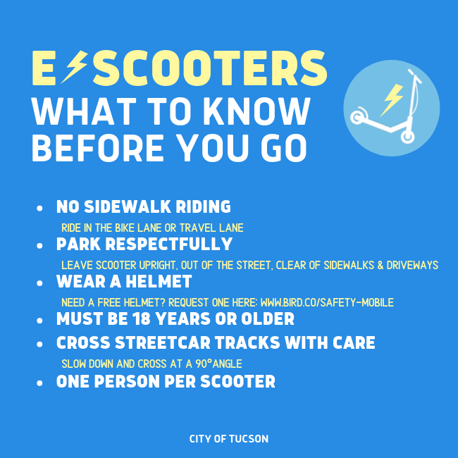 E-scooter tips