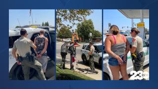 Saturation Patrol Arrests, Bakersfield, July 15, 2021