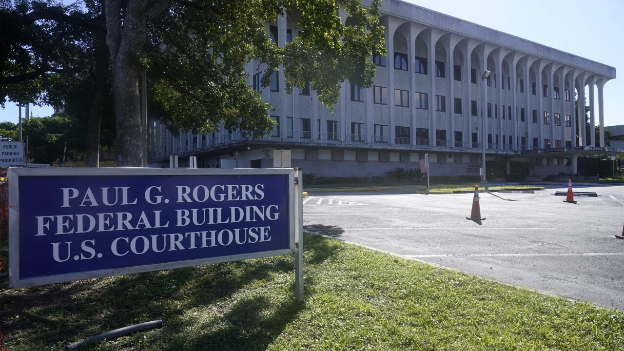 Paul G. Rogers Federal Building U.S. Courthouse in 2020