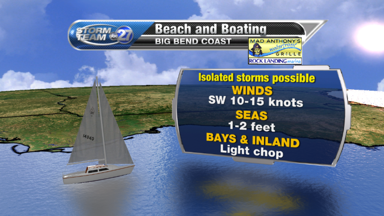 Beach and Boating forecast A (07/28/2017)