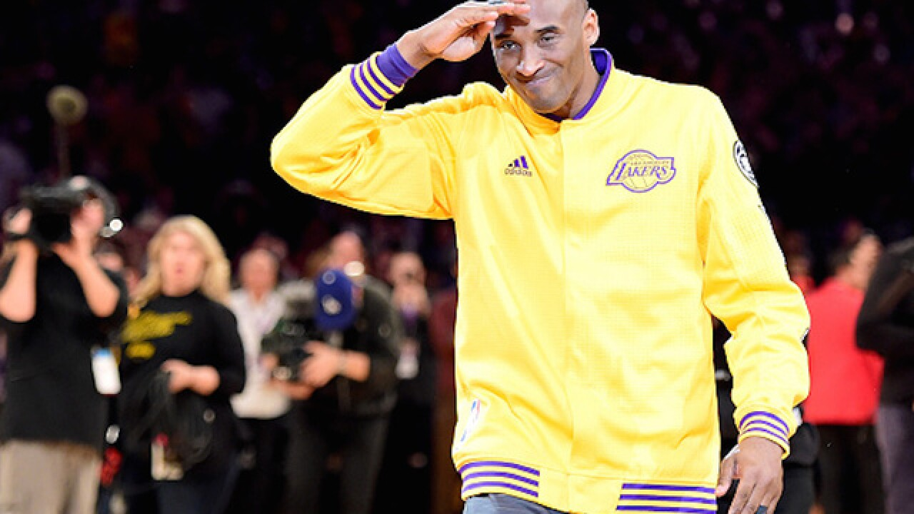 Kobe Bryant is already back to work