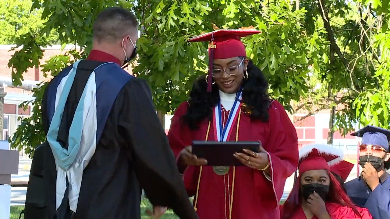 Mt. Auburn Preparatory Academy graduation