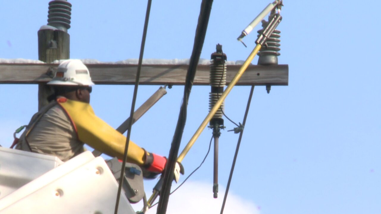50,000 Dominion Energy customers impacted by winter storm