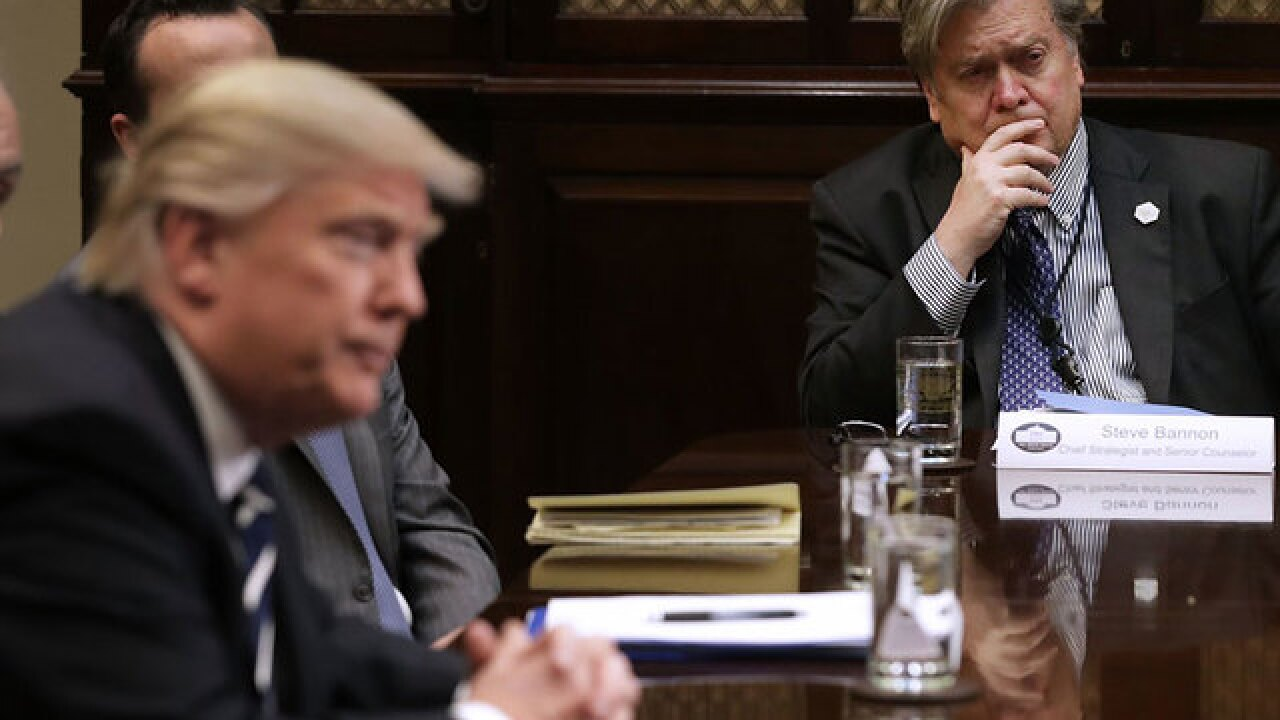 DC Daily: Bannon calls Trump 'great man' as president tries to stop release of controversial book