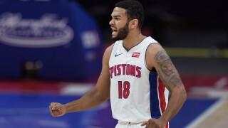 Cory Joseph Grizzlies Pistons Basketball