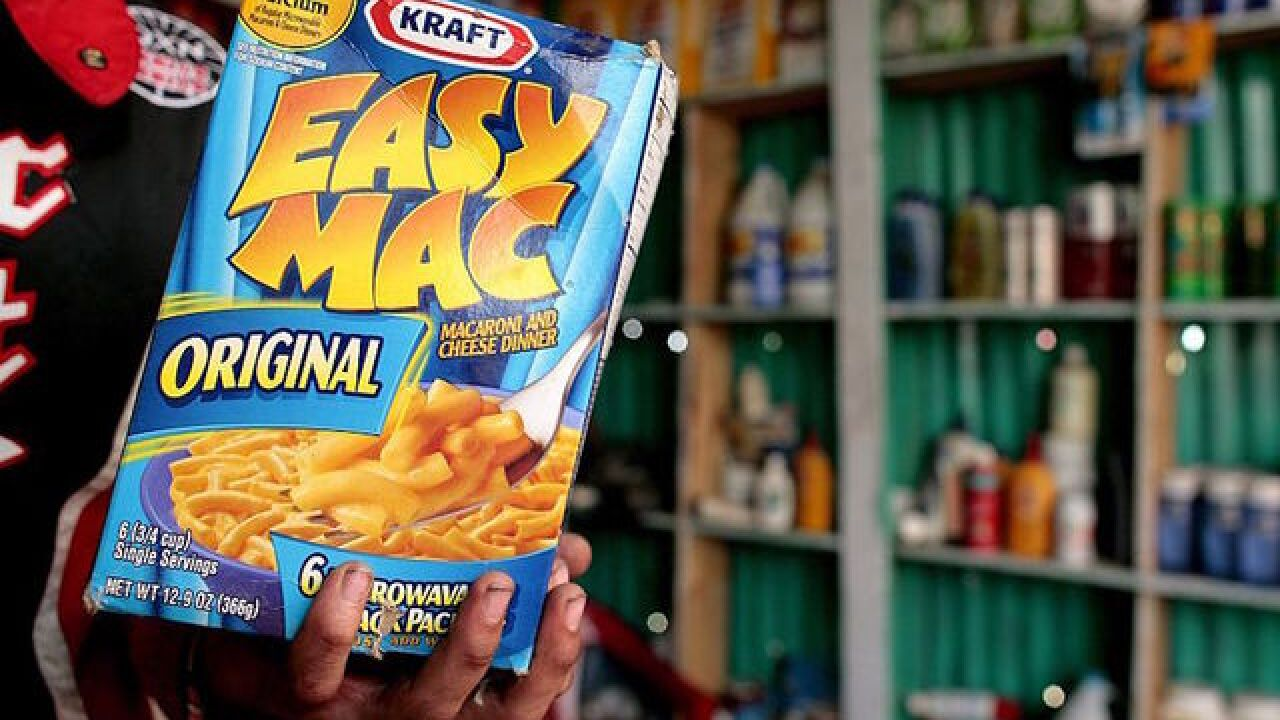 What chemicals are in your mac and cheese?