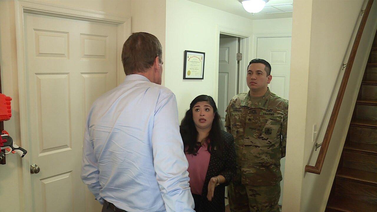 Military families show housing concerns to Senator Warner: 'You deservebetter'