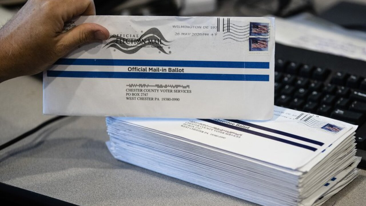 Michigan bill would allow some townships to process absentee ballots early, but not all