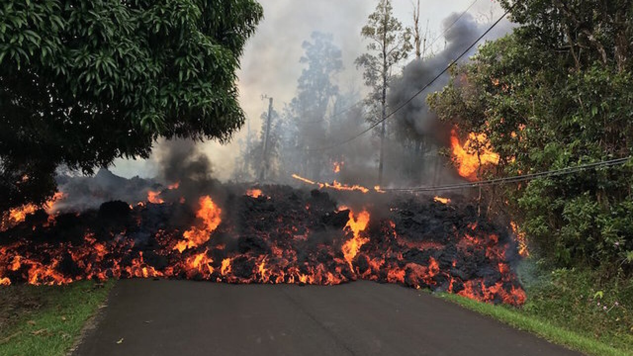 Hawaii volcano could send 10-ton boulders half-mile into the air
