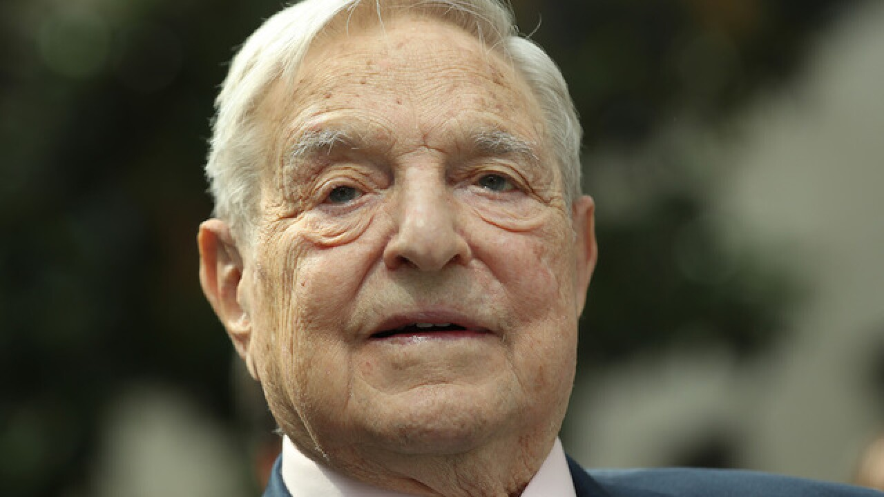 Explosive device found near home of billionaire investor George Soros