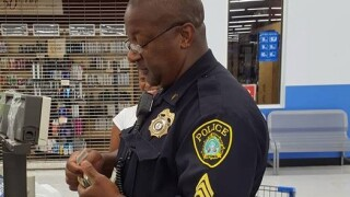 Newport News sergeant takes action by helping mother buy schoolsupplies