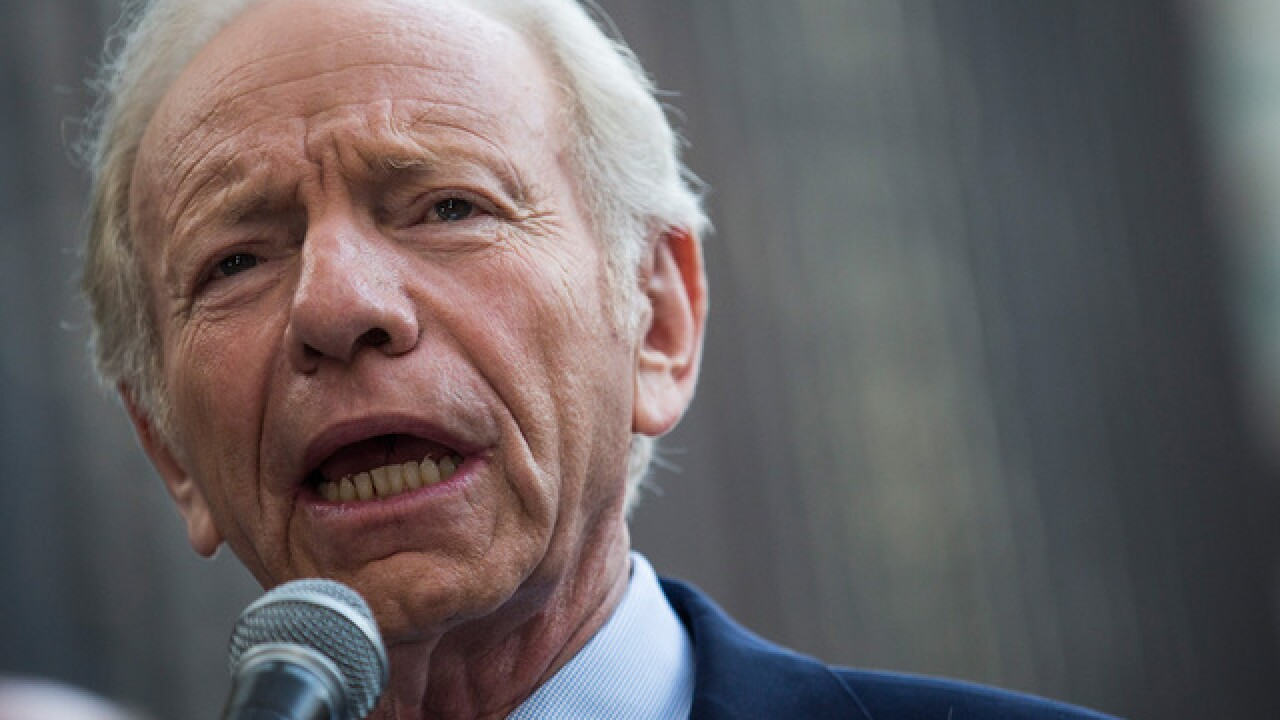 Joe Lieberman out of running for FBI director position