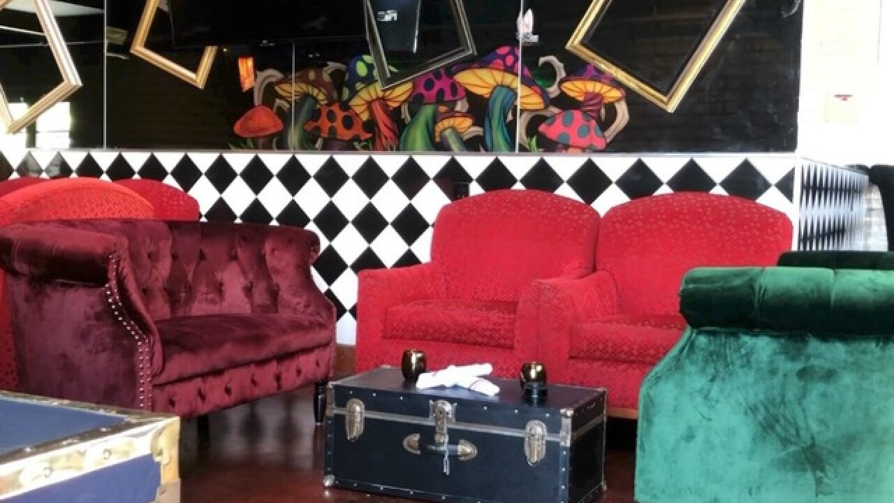 Check out this `Alice in Wonderland'-themed bar