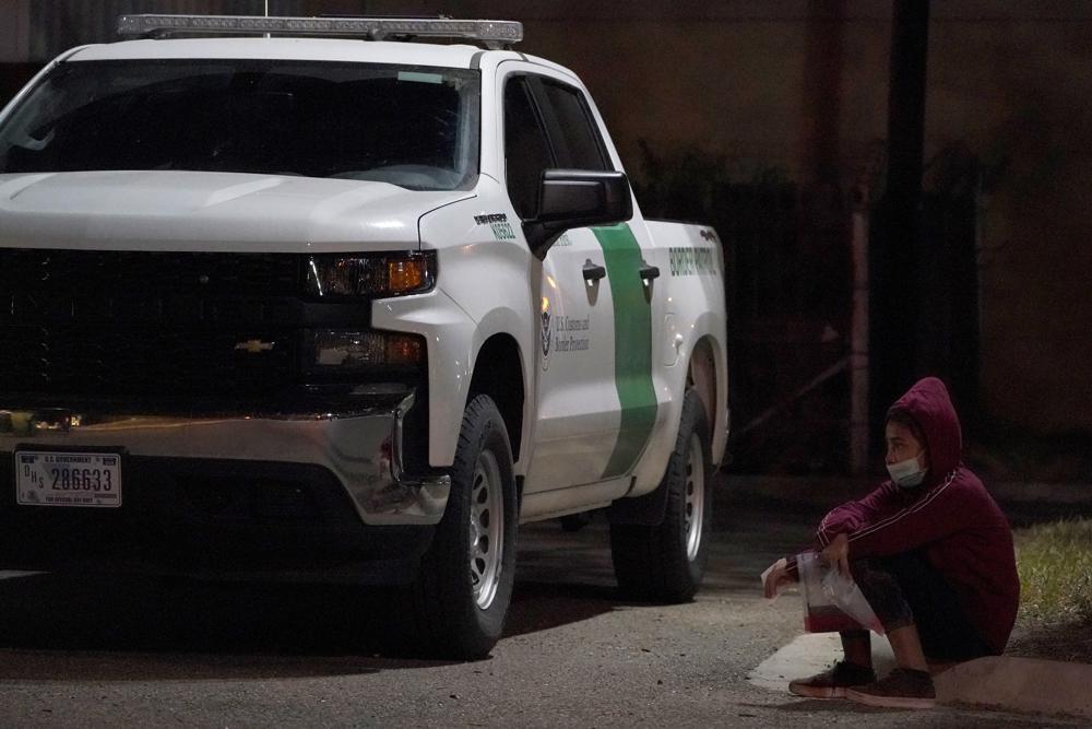 Migrant apprehension by CBP