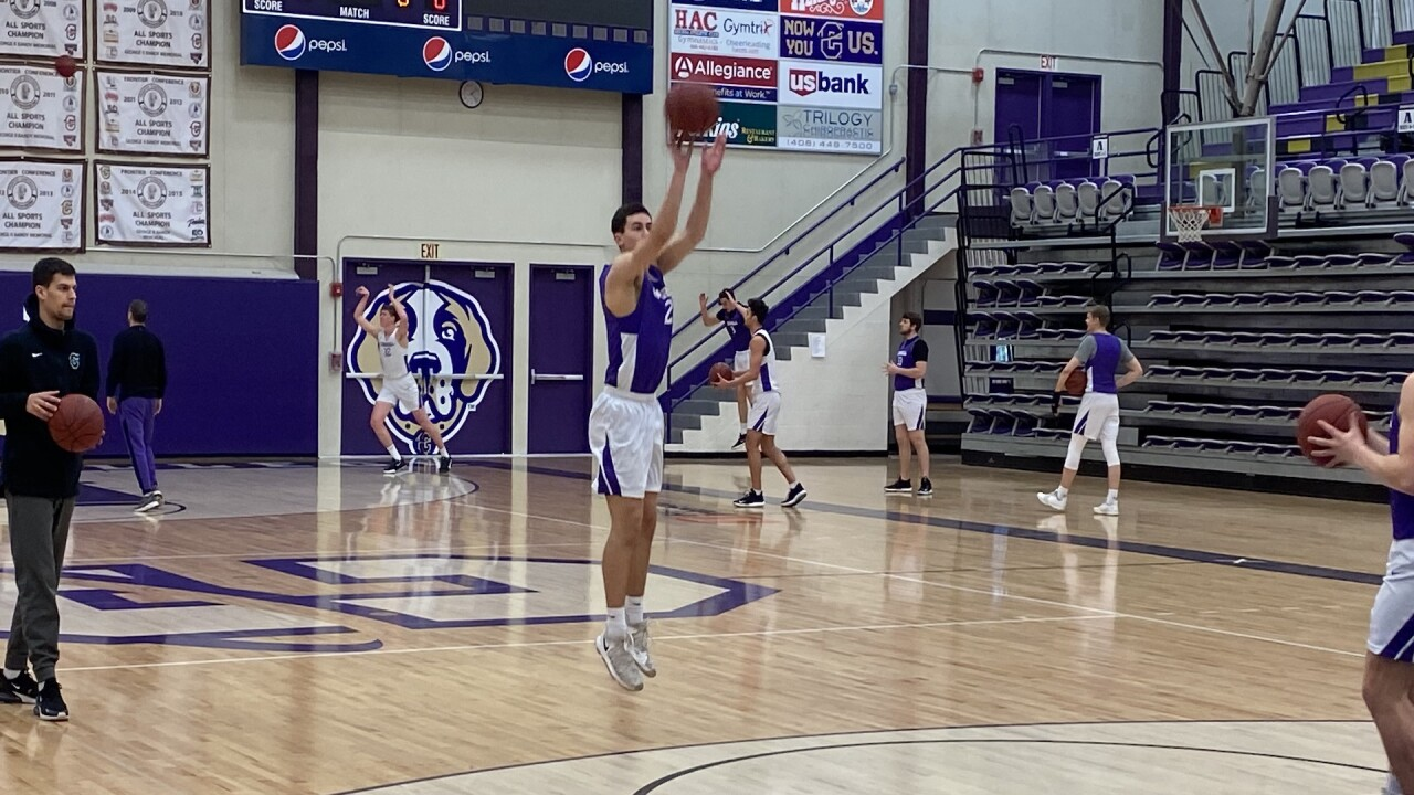 Carroll College Basketball happy with growth on holiday break