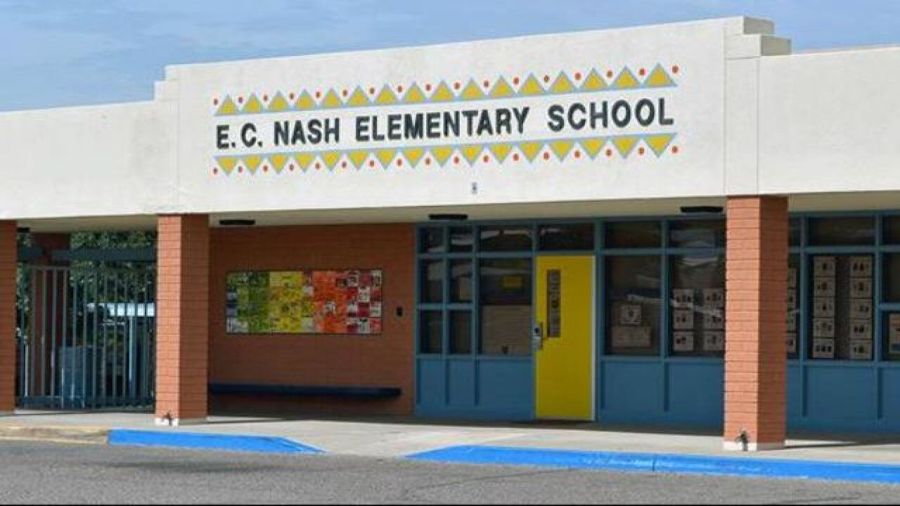 Bag of weapons found at Tucson elementary school