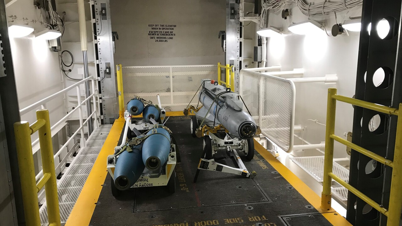 AWE on USS Gerald R. Ford