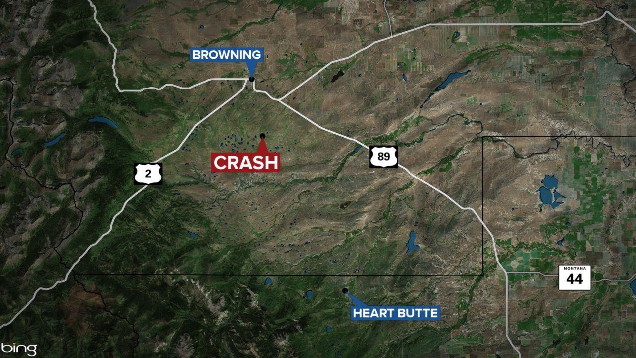 1 person dead in Glacier County crash