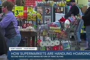 How supermarkets are handling second round of pandemic hoarding