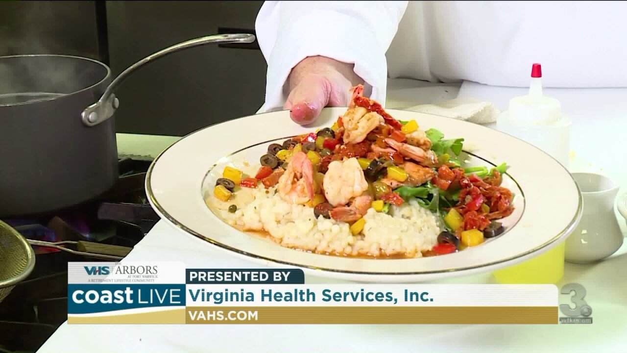 Cooking up Pan-Seared Salmon with Chef David Jones on Coast Live