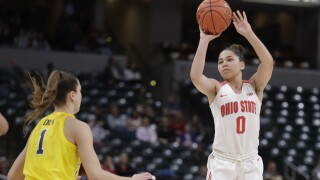 Ohio State women hold off Michigan in Big Ten semifinal