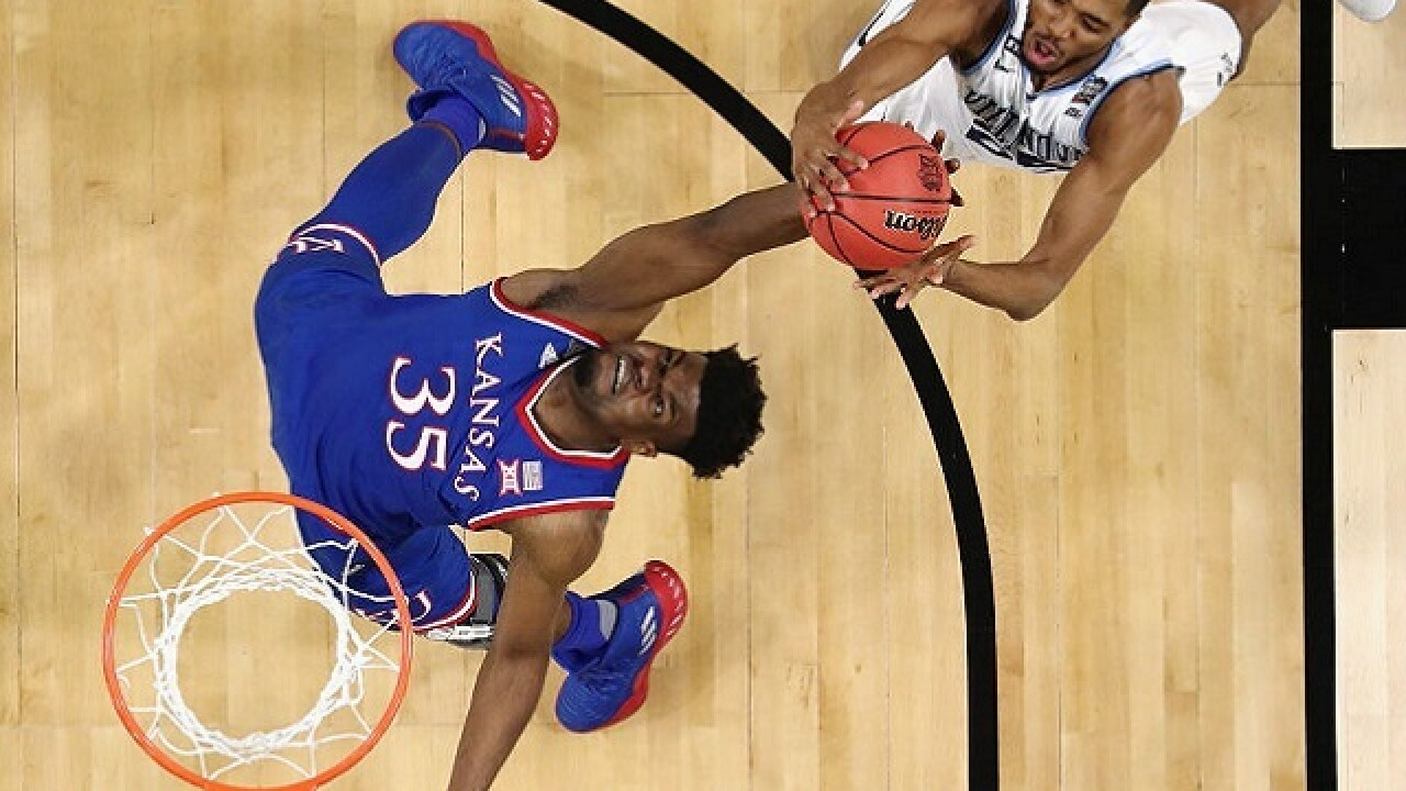 Wildcats' hot hand ends Jayhawks tourney run