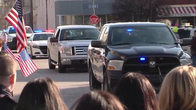 Deputy Jacob Pickett's 52-mile procession to his final resting place