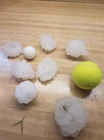 PHOTOS: Hail, storms roll through Kansas City area