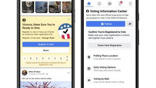 Facebook launches effort to boost voter turnout