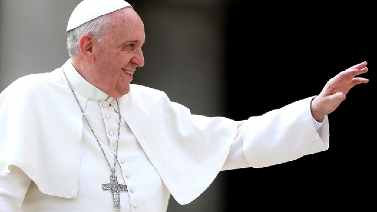 Pope Francis makes first trip to United States