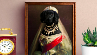 This Artist Will Make A Personalized Portrait Of Your Pet As Royalty