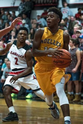 La Salle couldn't stop Moeller's momentum