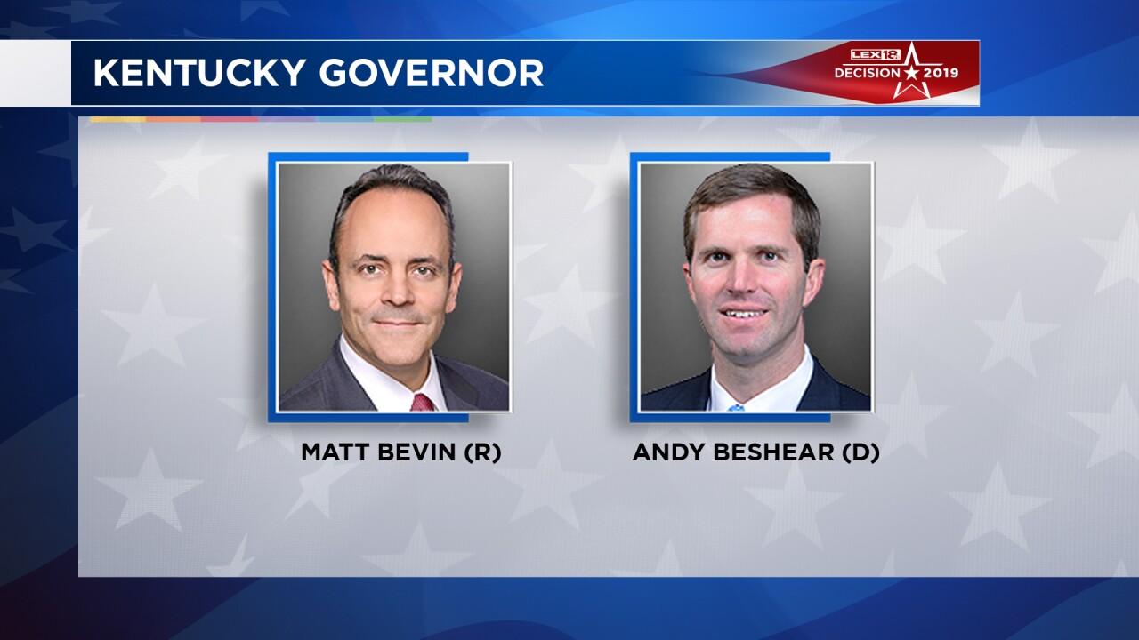 Kentucky Gov. Matt Bevin formally requests recanvass of Tuesday's vote tally