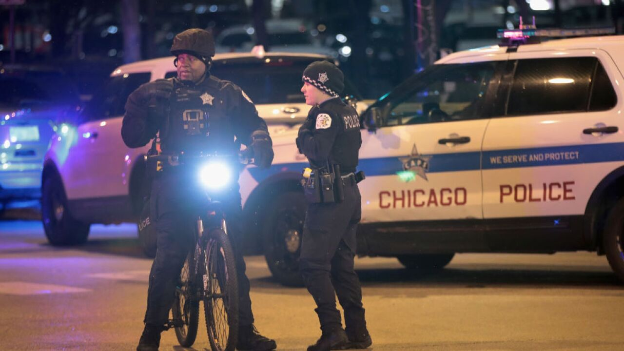 45 people were shot over the weekend in Chicago after police announced a decrease in shootings