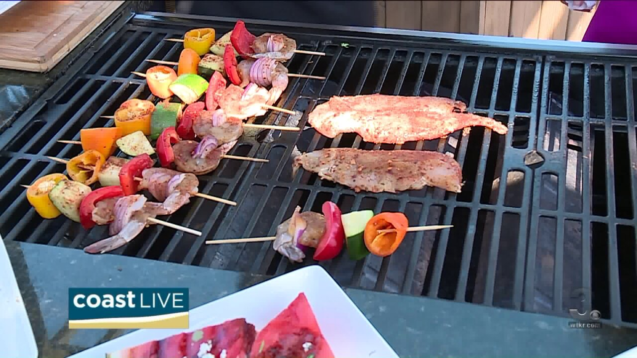 Tropical grilling tips from Chef Matthew May on CoastLive