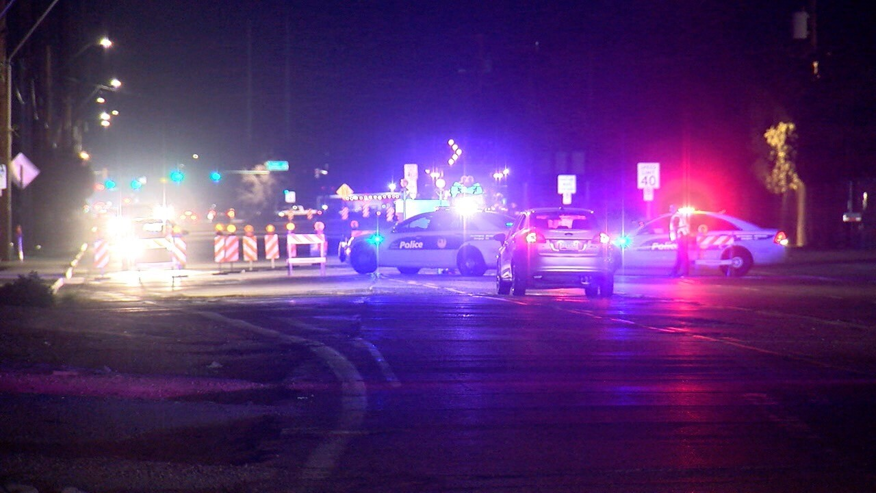Pedestrian accident 67th Avenue and Buckeye Rd.