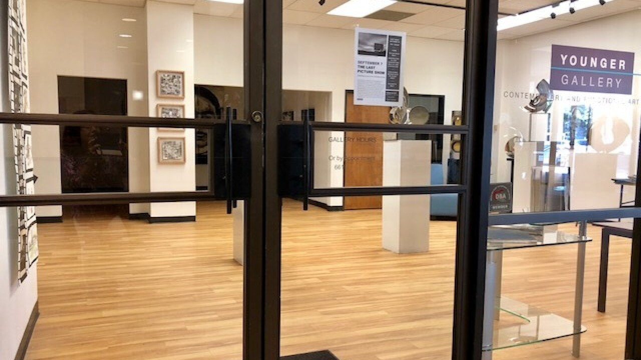 The Younger Gallery closing for good on Friday