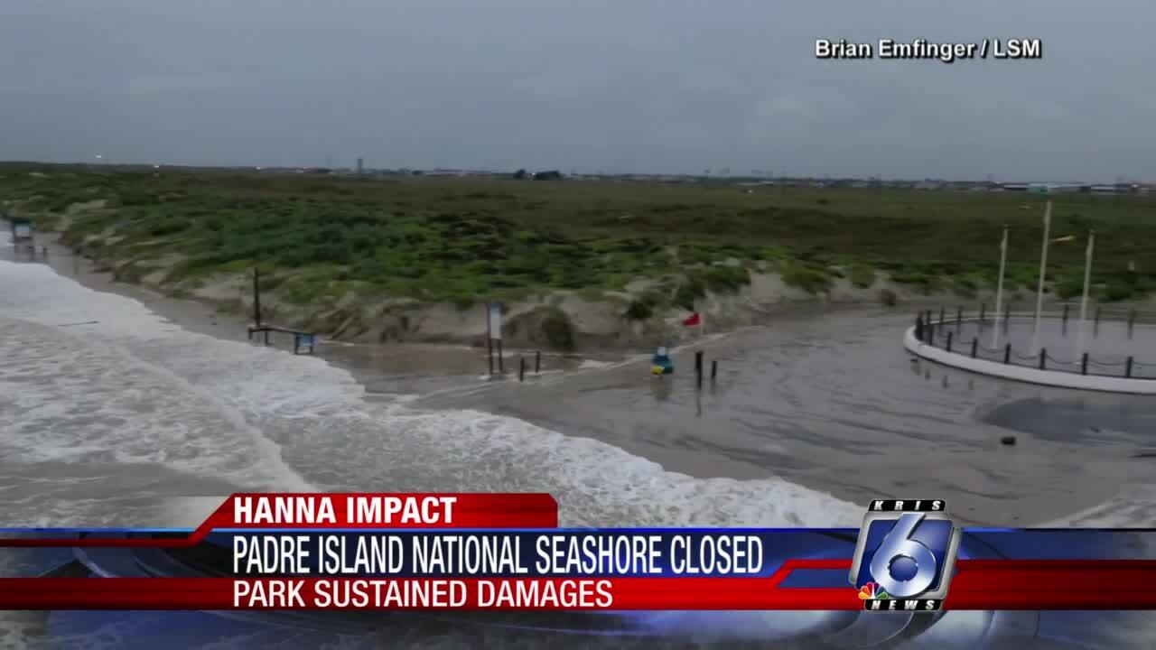 Padre Island National Seashore will remain closed until further notice