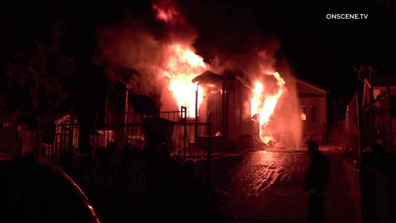 Logan Heights house fire