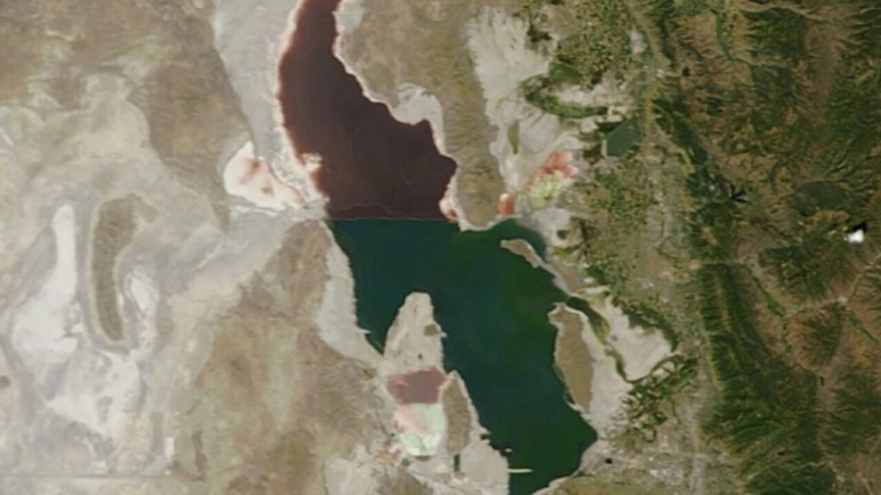 Fire & Ice Podcast: What's Killing the Great Salt Lake?
