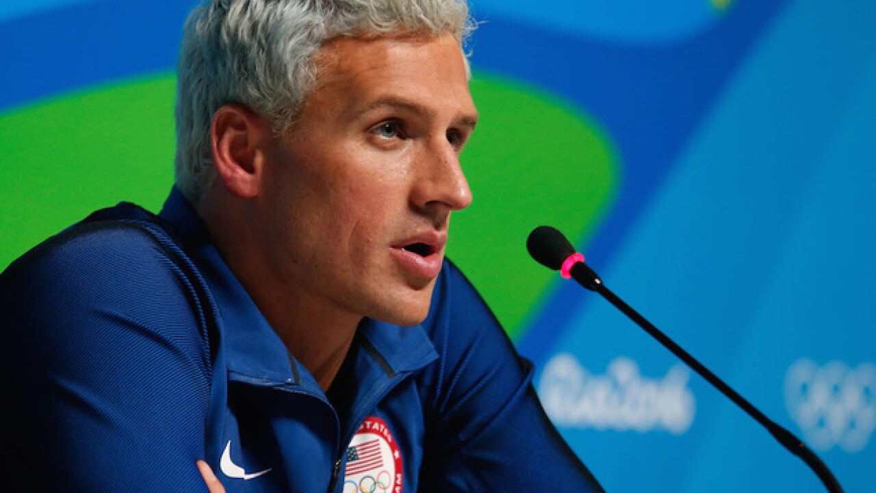 Brazil police: Lochte fabricated robbery claim
