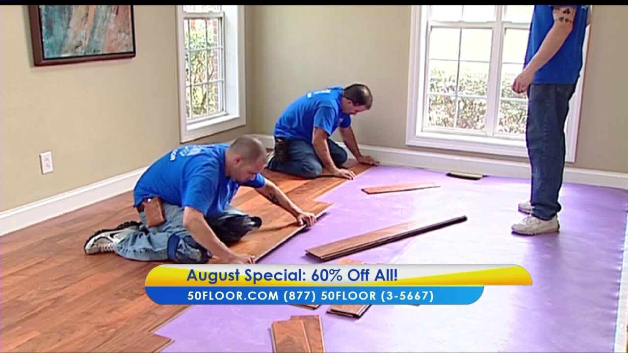 It's Go Time – Replace Your Carpets with 50Floor
