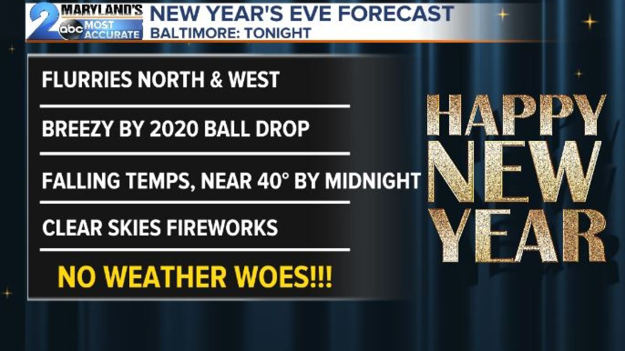 New Year's Eve Rundown