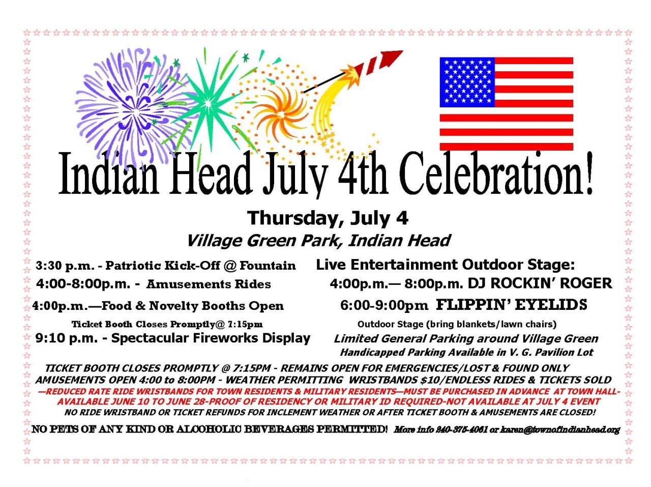 indian head july 4 celebration