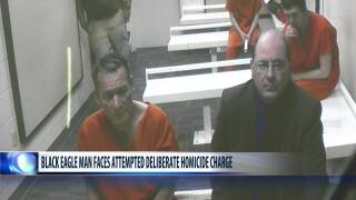 Wall charged with attempted deliberate homicide