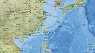 At least 2 dead after strong earthquake rocks eastern coast of Taiwan