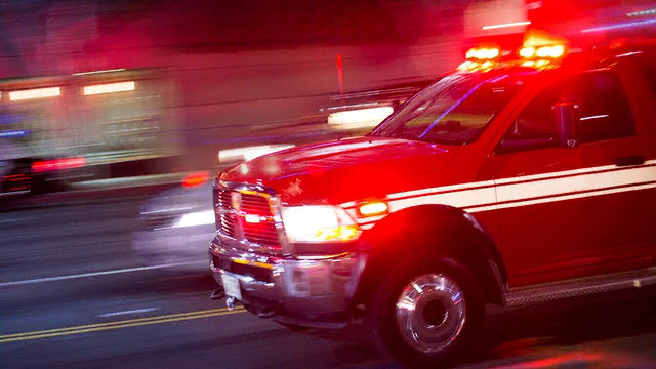 Two-vehicle crash leaves one person dead