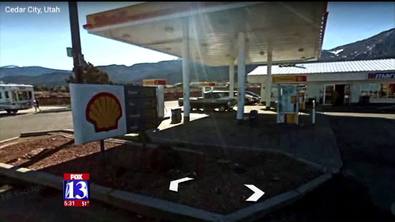 Police: suspect sprayed victim with gas nozzle during attempted carjacking in Cedar City