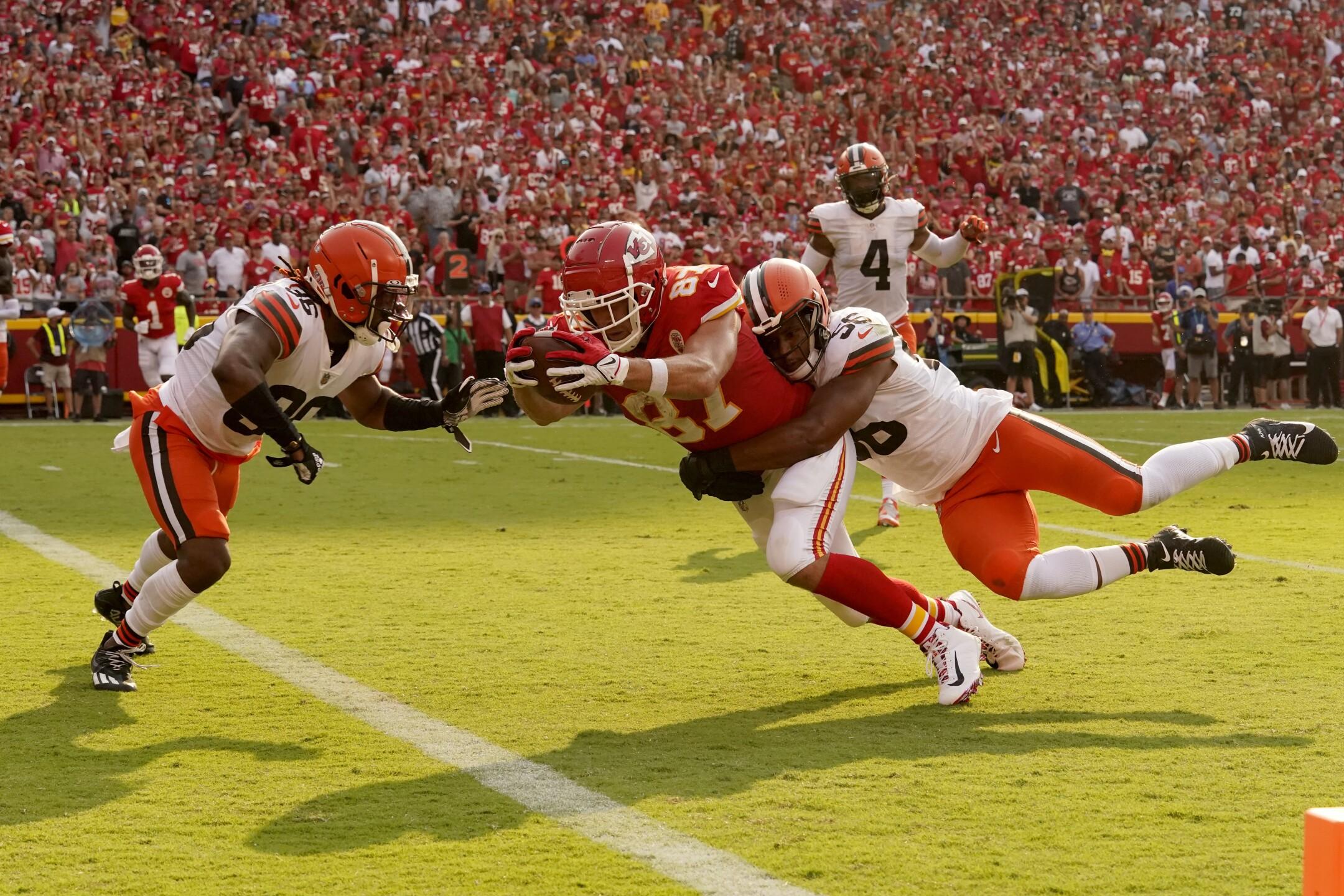 APTOPIX Browns Chiefs Football