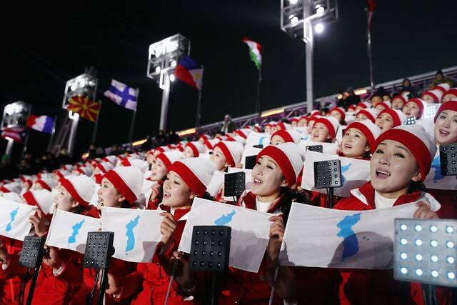PHOTOS: Winter Olympics opening ceremony kicks off